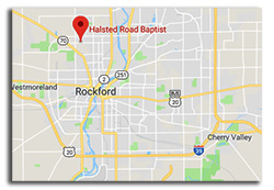 Rockford Church Map Halsted Road Baptist Church